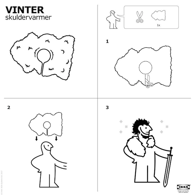 IKEA Game of Thrones