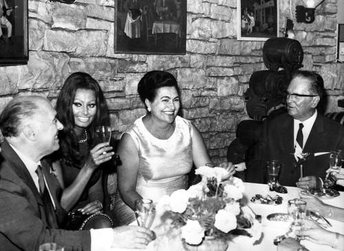 Tito i Sophia Loren