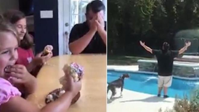 Pogledajte urnebesnu reakciju oca nakon saznanja da će dobiti 5. ćerku