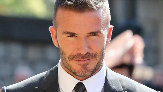 Glamur sa muškim likom: David Beckham