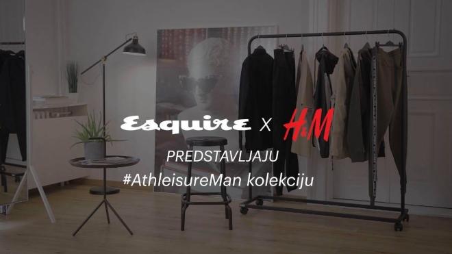 Esquire i HM predstavljaju AthleisureMan kolekciju