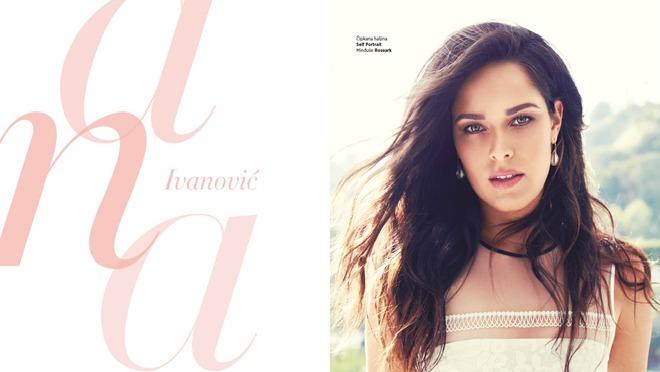Šta je Ana Ivanović otkrila u intervju srpskom Harper's Bazaaru?