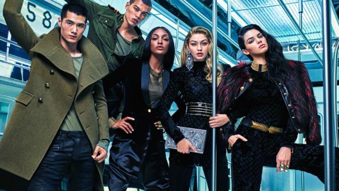Koji supermodeli učestvuju u Balmain/H&M kampanji?