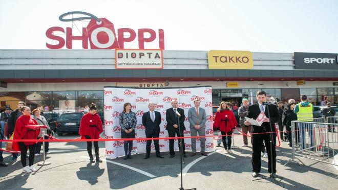 Svečano otvoren prvi SHOPPI retail park u Srbiji