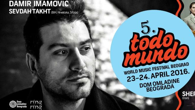 Izuzetan program petog World Music festivala Todo Mundo