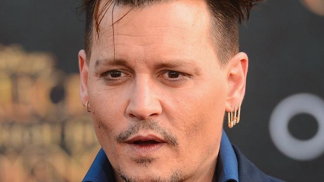 Johnny Depp pod stare dane fura punk fazon