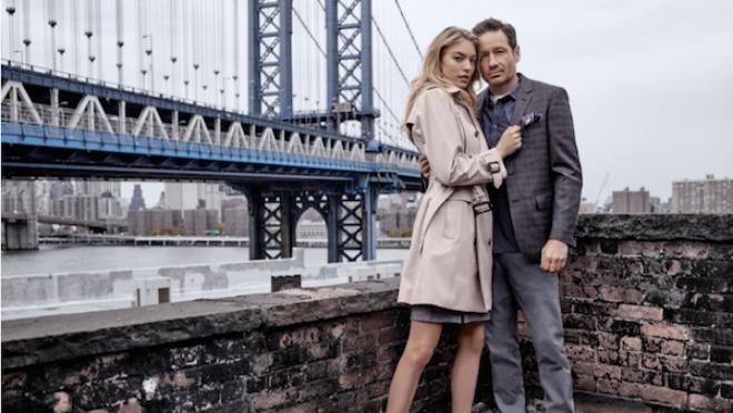 David Duchovny i Martha Hunt kao zaljubljeni par