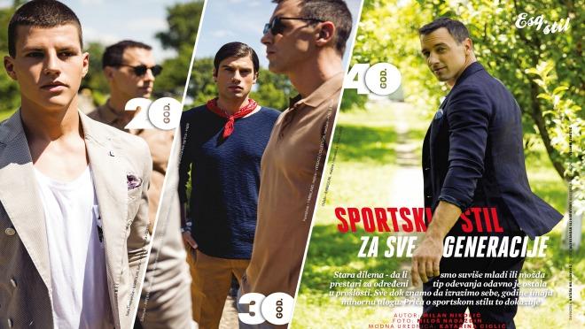 Sportski stil za one kojima imaju 20, 30 ili 40 godina!