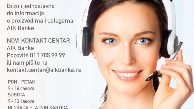 Brzo i jednostavno do informacija o proizvodima i uslugama AIK Banke
