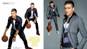 ONI VEČERAS POBEĐUJU: Zvezde košarkaške reprezentacije u objektivu Esquire-a!