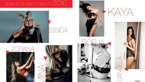 Najseksepilnije žene u prethodnoj godini po izboru magazina Esquire