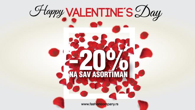 Sjajna akcija za Dan zaljubljenih!