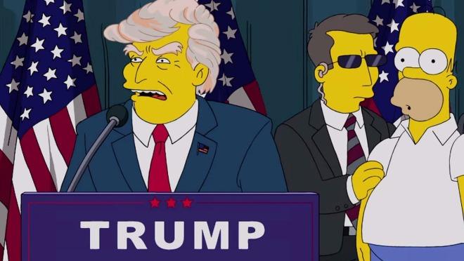 Simpsonovi obeležili 100 dana Trumpa na vlasti