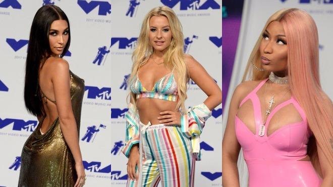 14 najseksepilnijih kombinacija sa VMA crvenog tepiha