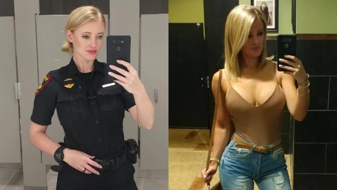 Kad budete videli ovu policajku poželećete da vas uhapsi!