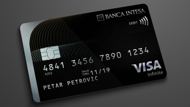 Banca Intesa i Visa uvode najprestižniju platnu karticu na tržište Srbije