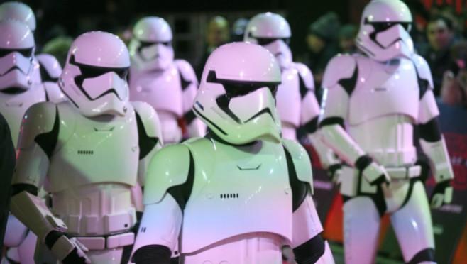 Njih dvojica su bili glavni gosti na evropskoj premijeri Star wars-a