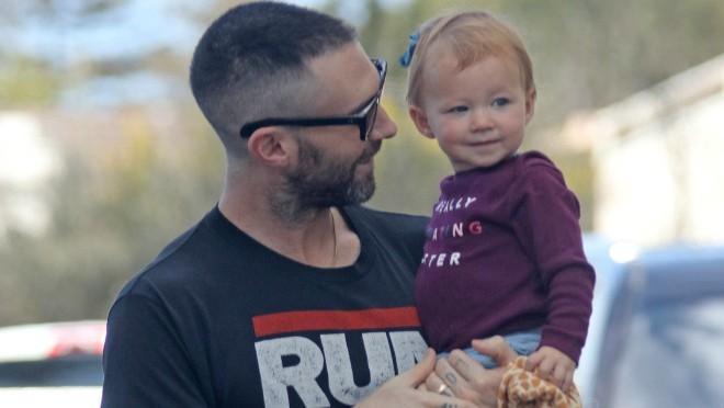Super tata: Adam Levine sa ćerkom