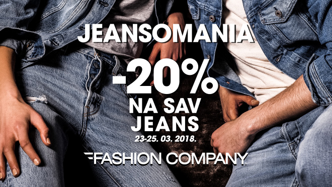 Spremni za VIKEND jeansomaniu?