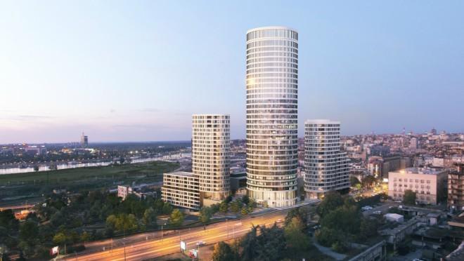 Predstavnici medija posetili prodajnu kancelariju Skyline Belgrade