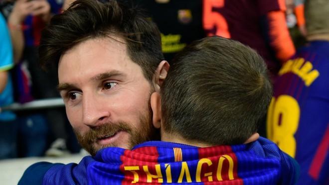 Kakav trenutak: Ko je bodrio Messija na utakmici?