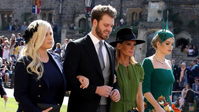 Pogledaje ko je primećen na kraljevskom venčanju