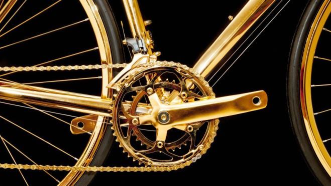 Da li biste se provozali: Bicikl od suvog zlata