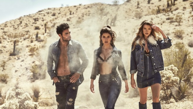 GUESS jesenja kampanja za 2018:Pustinjski vajb Kalifornije