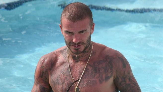 Fotke sa bazena pokazuju zašto je Beckham i dalje u mnogim stvarima bez konkurencije