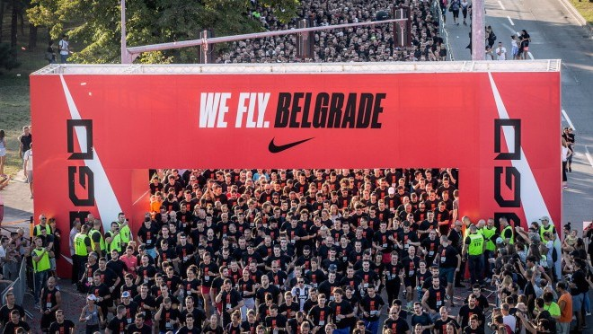 Brend Nike oborio rekord We fly Belgrade trkom