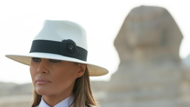 Neverovatne fotografije: Melania Trump u poseti Egiptu