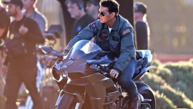 Tom Cruise na snimanju Top Gun-a 32 godine kasnije