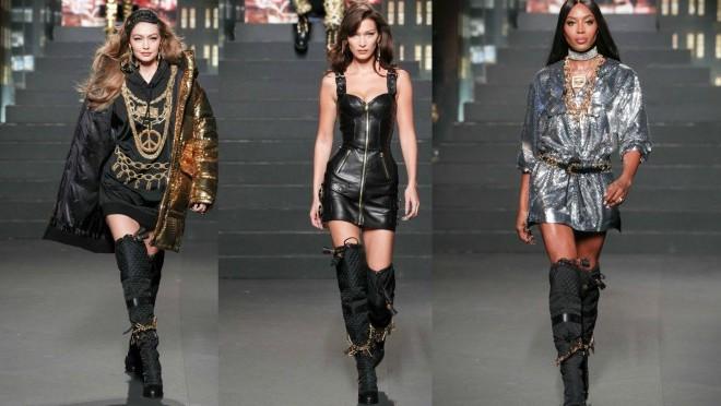 MOSCHINO [tv] HM MODNA REVIJA: Poznate ličnosti, supermodeli i iznenađenja