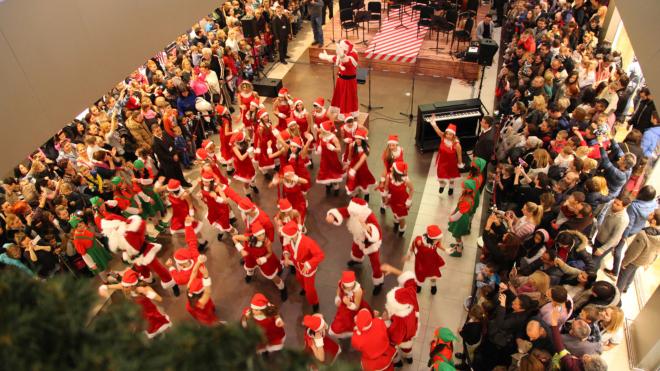 Novogodišnji koncert dečjeg hora Kolibri