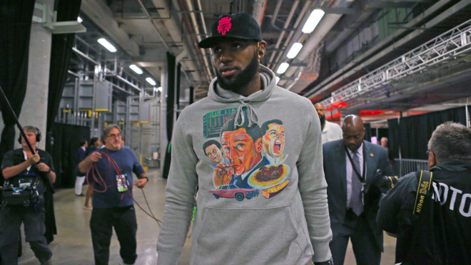 Sportisti kao modne ikone: LeBron James