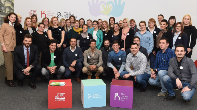 Generali Osiguranje Srbija u partnerstvu sa Fondacijom Novak Đoković pomaže roditeljima u ranom razvoju dece