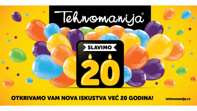 Tehnomanija – Slavimo 20!