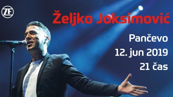 Veliki koncert Željka Joksimovića u Pančevu