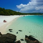 Whitehaven plaža, Whitsunday Island, Whitsunday Islands, Queensland, Australia