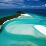 Brdo Inlet i Whitehaven plaža, Whitsunday Island, Whitsunday Islands, Queensland, Australia