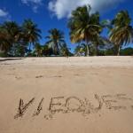 Sunbay plaža, Vieques Island, Puerto Rico