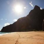 Honopu plaža, Napali obala, Kauai, Hawaii