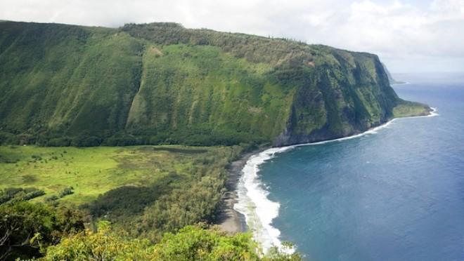 Waipio dolina, Hawaii