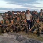 Tom Cruise i kolumbijska vojska