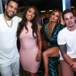 French Montana, LaLa Anthony, JLO & Casper Smart