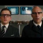 Taron Egerton i Mark Strong u Kingsman 2